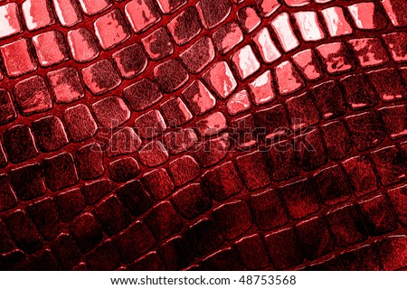 red glossy texture - stock photo