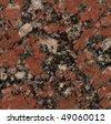 red granite - stock photo