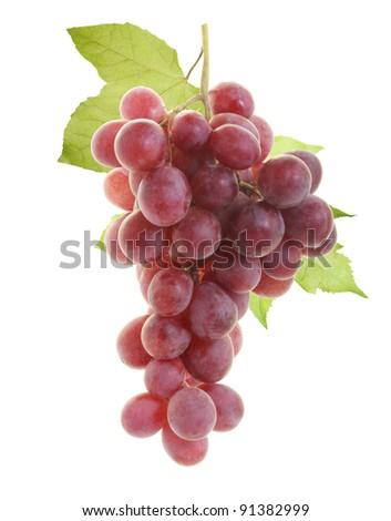 red grape - stock photo