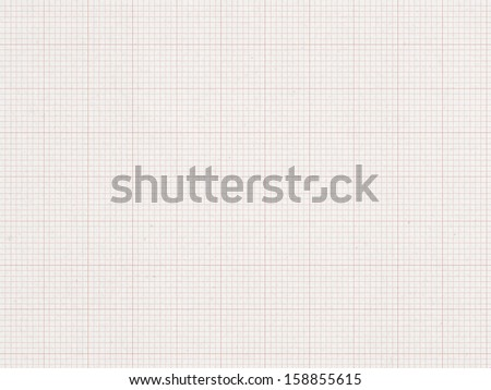 RED Graph line, paper background   - stock photo