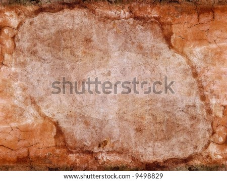 Red grey wall texture background - stock photo