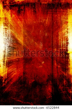 red grongy background - stock photo