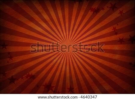 Red Grunge - stock photo
