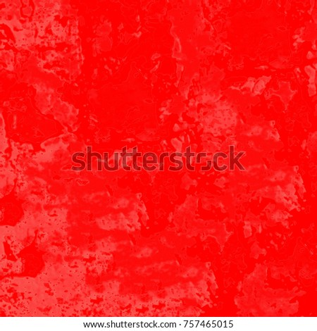 Red grunge background. The texture of the red paint from fading