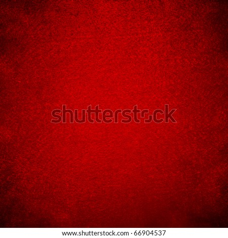 Red grunge felt useful for christmas background - stock photo