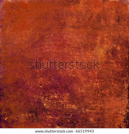red grunge text - stock photo