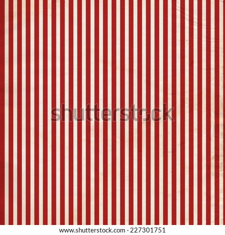 Red Grungy Stripe Distress Background - stock photo
