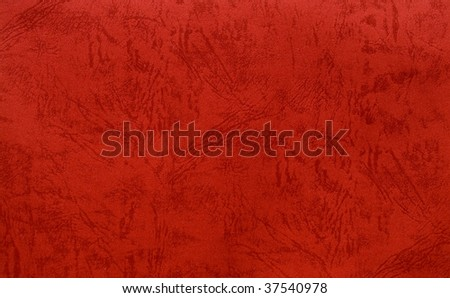 red handmade paper for christmas - stock photo