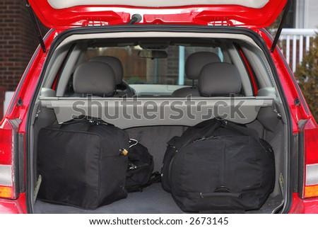 Women Putting Bags In Car Trunk Hot Girls Wallpaper