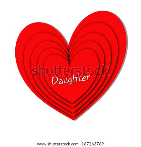 Red Hearts - Daughter