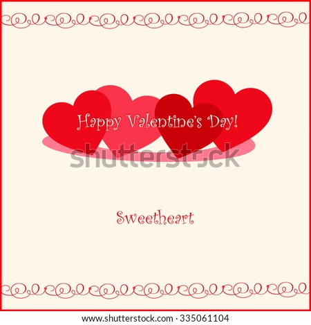 valentines day sweetheart