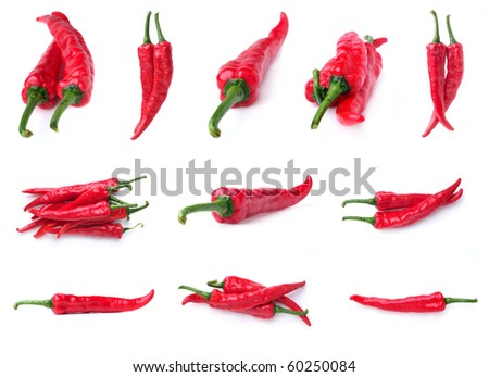 Red hot chilli - stock photo
