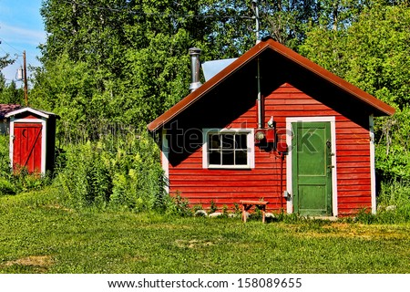 Red House and Outhouse