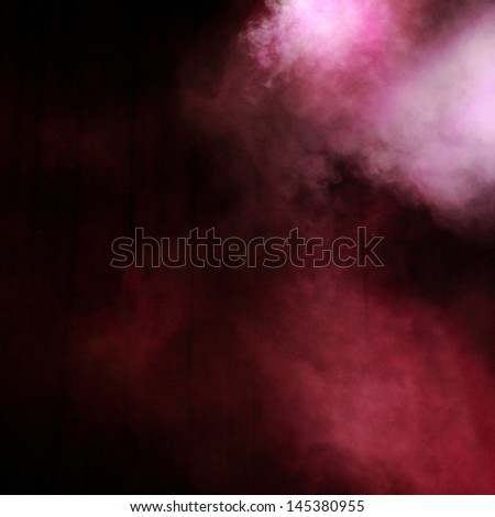 Red illumination as a background/Violet lighting - stock photo