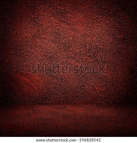 red interior  - stock photo