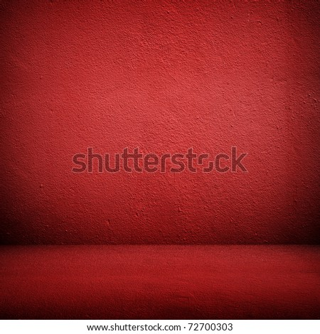 red interior - stock photo