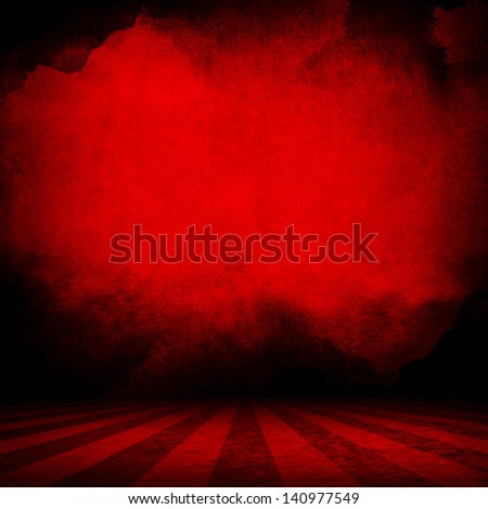 red interior background - stock photo
