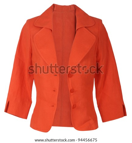 red jacket - stock photo