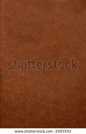 Red leather book cover texture background - stock photo