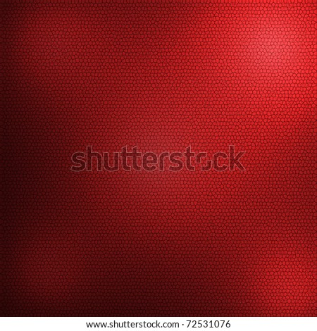 red leather texture for background - stock photo
