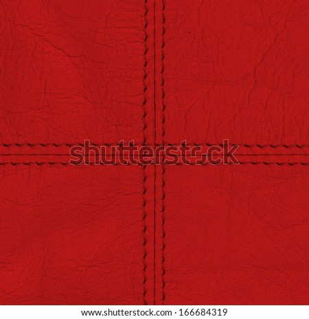 red leather texture,stitch