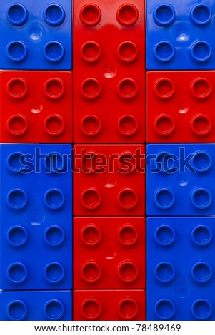 Red Lego Cross