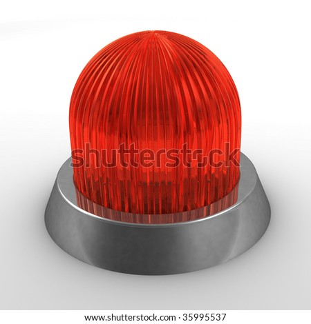 red light - stock photo