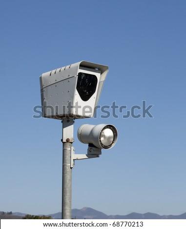 Red Light Camera - stock photo