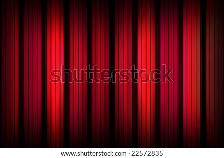 Red luxury background with stripes - stock photo