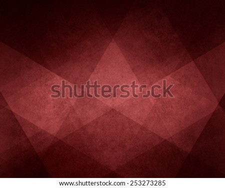 red marsala background design element on black background, abstract red background white striped pattern and blocks in diagonal lines on vintage red texture  - stock photo