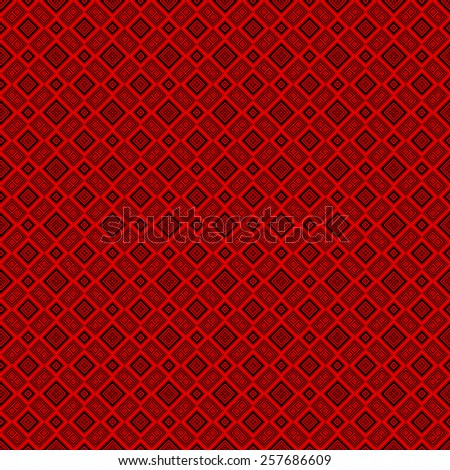 Red mosaic texture generated