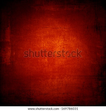 Red old paper background pattern - stock photo