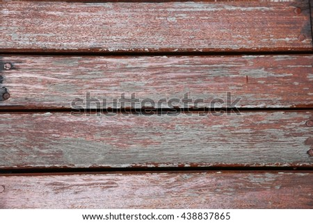 red old wood wall, background - stock photo