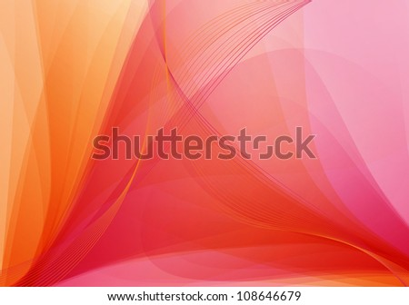 Red / orange abstract background - stock photo