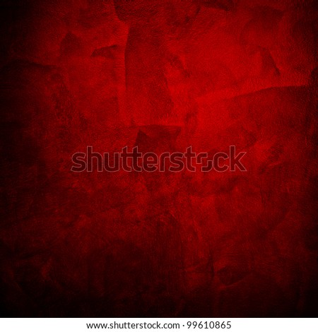 red paint - stock photo