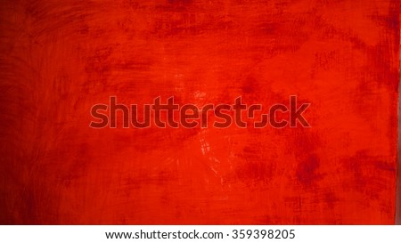 red paint texture on background - stock photo