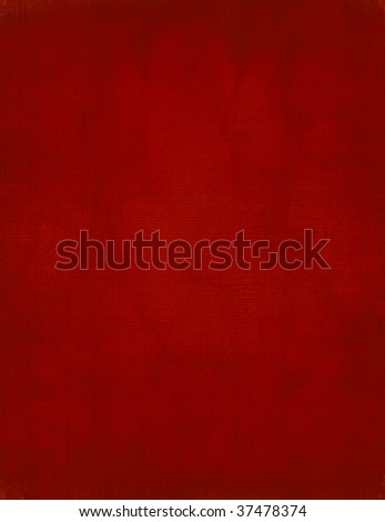 red painted canvas background for christmas - stock photo