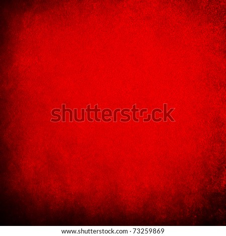 red painting - stock photo
