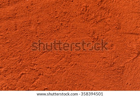 Red pepper background - stock photo