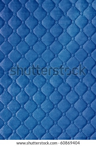 red  picture of genuine leather upholstery - stock photo