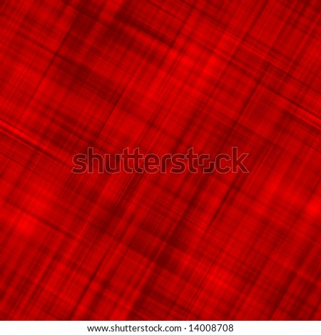 Red Plaid - stock photo