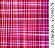 red plaid background design - stock vector