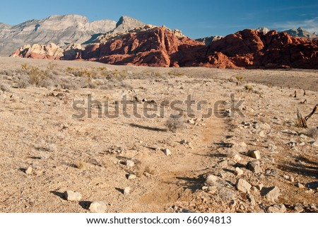 Red Rock Canyon Desert Canyon