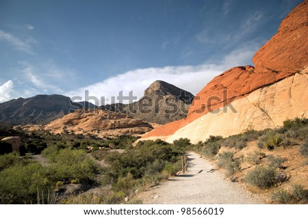 Red Rock Canyon in Nevada / Canyon Colors