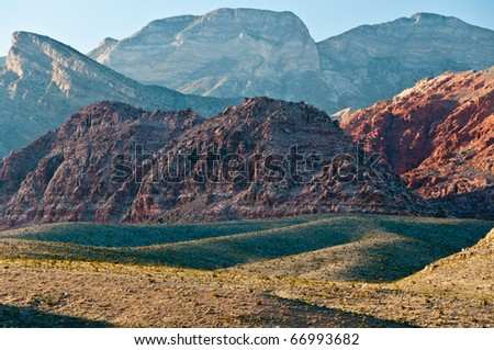 Red Rock Canyon Near las Vegas - stock photo