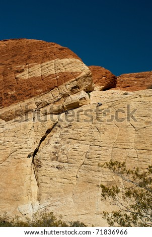 Red Rock Canyon, Nevada - stock photo