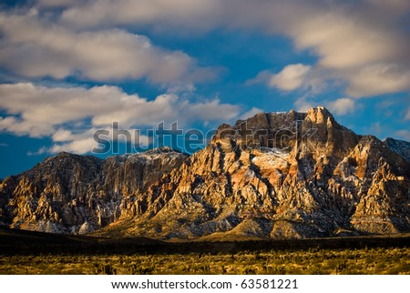 Red Rock Canyon - Rainbow Mountain