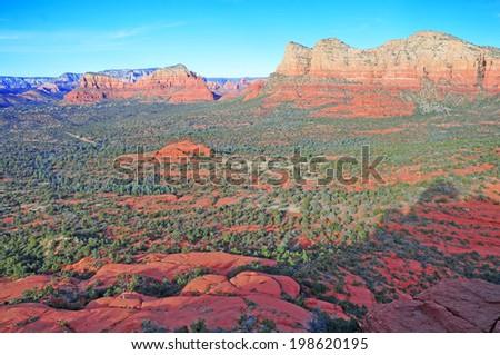Red Rock Landscape in Sedona, Arizona, USA  - stock photo