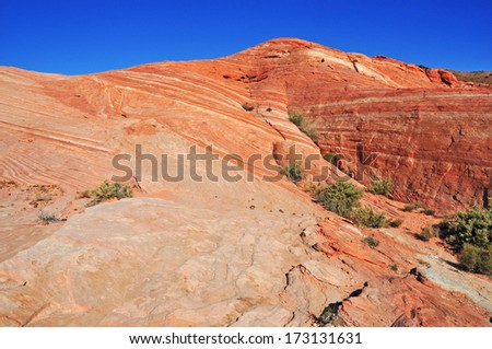 Red Rock Landscape of the Southwest USA - stock photo