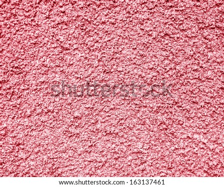red rough concrete wall texture - stock photo